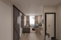Дизайн интерьера 2-х комнатной квартиры #1