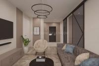 Дизайн интерьера 2-х комнатной квартиры #2