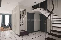Дизайн интерьера частного загородного дома #10