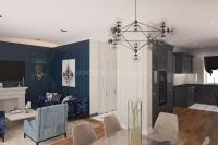 Дизайн интерьера частного загородного дома #3