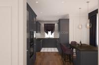 Дизайн интерьера частного загородного дома #5