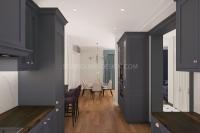 Дизайн интерьера частного загородного дома #6
