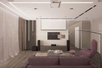 Дизайн интерьера 3-х комнатной квартиры #5