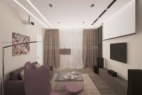 Дизайн интерьера 3-х комнатной квартиры #7