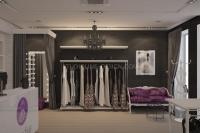 Дизайн интерьера салона-магазина #1