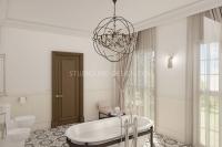 Дизайн интерьера ванной комнаты #4