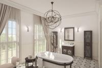 Дизайн интерьера ванной комнаты #3