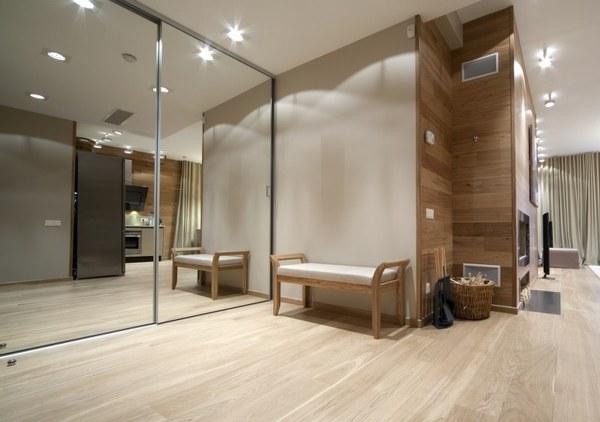 Зеркальная перегородка или фасад - как прием расширения пространства