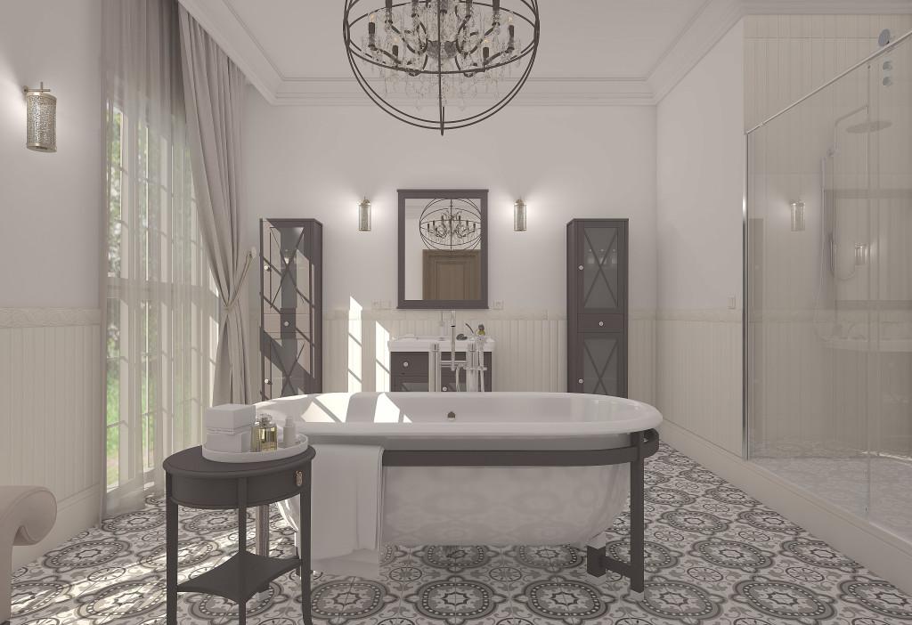 Дизайн интерьера ванной (г. Харьков)